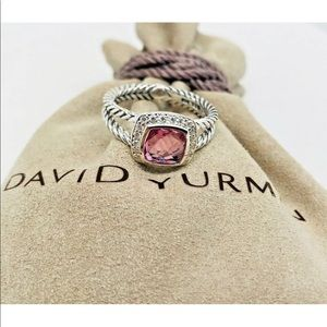 David Yurman Pink Tourmaline and Diamonds